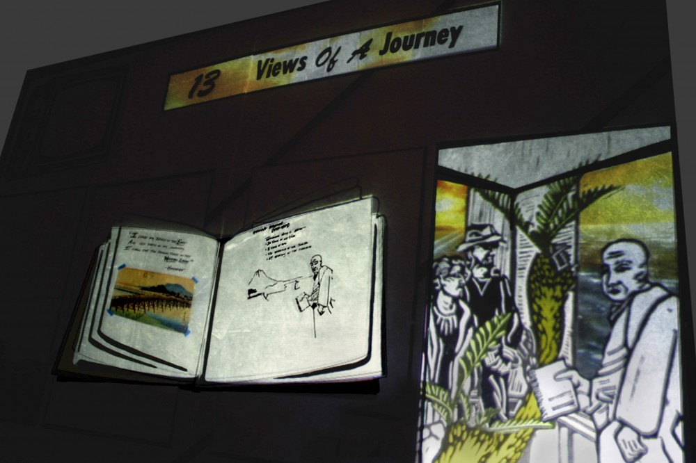 13 Views of a Journey (detail)