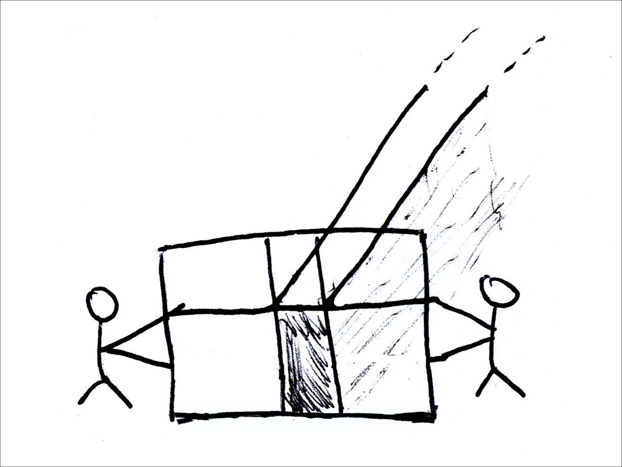 performance 2 (passage), floating