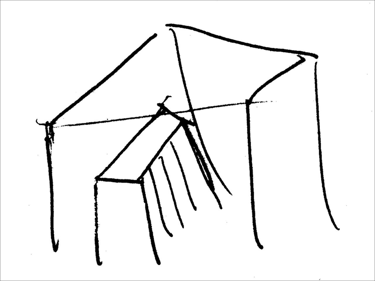performance 2 (passage), sketch